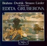 DVORAK - Gruberova - Huit chansons d'amour (Pfleger-Moravský), pour voix