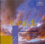 VIVALDI - Berganza - Nisi Dominus (Psaume 126) en sol mineur, pour alto