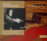 BACH - Weissenberg - Partita pour clavier n°4 en ré majeur BWV.828