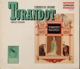 BUSONI - Albrecht - Turandot, opéra