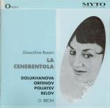 ROSSINI - Brod - La cenerentola (chanté en russe) chanté en russe
