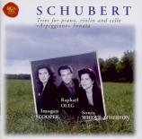 SCHUBERT - Cooper - Trio avec piano n°2 en mi bémol majeur op.100 D.929