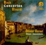 BACH - Vernet - Concerto pour orgue en la mineur BWV.593 (d'après Vivald