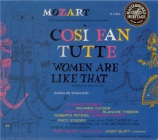 MOZART - Stiedry - Cosi fan tutte (Ainsi font-elles toutes), opéra bouff en anglais