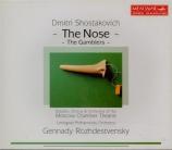 CHOSTAKOVITCH - Rozhdestvensky - Le nez, op.15