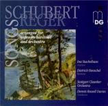 Lieder (Arrangements pour orchestre de Max Reger)