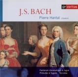 BACH - Hantai - Toccata pour clavier en ré majeur BWV.912