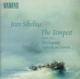 SIBELIUS - Segerstam - Aallottaret (Les océanides), poème symphonique po