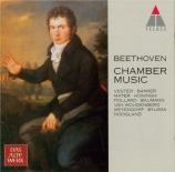 BEETHOVEN - Vester - Trio avec piano op.11 'Gassenhauer-Trio'