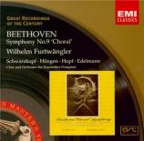 BEETHOVEN - Furtwängler - Symphonie n°9 op.125 'Ode à la joie'
