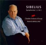 SIBELIUS - Berglund - Symphonie n°1 op.39