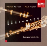 Rencontre (duos for clarinet)