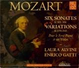 MOZART - Alvini - Sonate pour violon et piano n°18 en sol majeur K.301 (