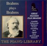 Brahms joue Brahms