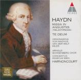 HAYDN - Harnoncourt - Missa in Angustijs, pour solistes, chœur mixte, or
