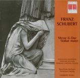 SCHUBERT - Kegel - Messe n°2 en sol majeur, pour solistes, chœur, cordes