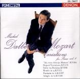 MOZART - Dalberto - Fantaisie pour piano K.397