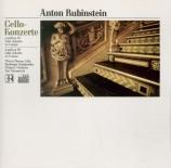 RUBINSTEIN - Thomas - Concerto pour violoncelle n°1 op.65