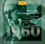 SCHUMANN - Rostropovich - Concerto pour violoncelle et orchestre en la m