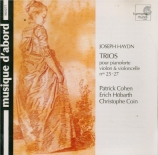 HAYDN - Cohen - Trio avec clavier n°27 en la bémol majeur op.68 Hob.XV:1