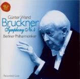 BRUCKNER - Wand - Symphonie n°4 en mi bémol majeur WAB 104