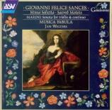 SANCES - Musica Fabula - Missa solicita