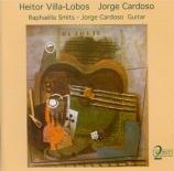 VILLA-LOBOS - Smits - Cinq préludes pour guitare