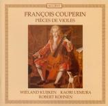 COUPERIN - Kuijken - Suite pour violes de gambe n°1 en mi mineur