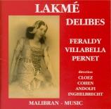 DELIBES - Villabella - Lakmé : extraits