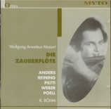 MOZART - Böhm - Die Zauberflöte (La flûte enchantée), opéra en deux acte