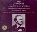 WAGNER - Leonhardt - Tannhäuser WWV.70 (Stuttgart, 24 - 10 - 1937) Stuttgart, 24 - 10 - 1937