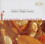 COUPERIN - Kuijken - Concerts royaux : troisième concert