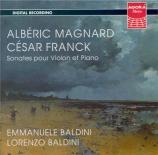 MAGNARD - Baldini - Sonate pour violon et piano op.13