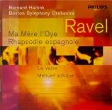 RAVEL - Haitink - Ma mère l'oye, musique de ballet pour orchestre