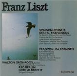 LISZT - Albrecht - St François d'Assise : la prédication aux oiseaux, lé