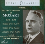 His first US Records of Mozart