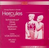 HAENDEL - Matacic - Hercules, oratorio HWV.60 Live Scala di Milano, 1958