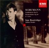 SCHUMANN - Bostridge - Liederkreis (Heine), cycle de neuf mélodies pour