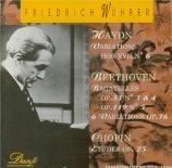 CHOPIN - Wührer - Douze études pour piano op.25