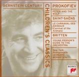 PROKOFIEV - Bernstein - Pierre et le loup, conte symphonique pour enfant