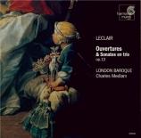 LECLAIR - London Baroque - Trois ouvertures et trois sonates en trio op