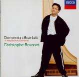 SCARLATTI - Rousset - Sonate pour clavier en do majeur K.461 L.8