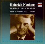 BACH - Neuhaus - Clavier bien tempéré (Le) : extraits