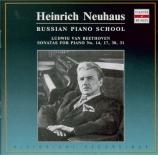 BEETHOVEN - Neuhaus - Sonate pour piano n°14 op.27 n°2 'Clair de lune'