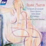 MARTIN - Britten-Pears E - Quintette pour piano et cordes
