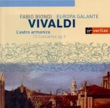 VIVALDI - Biondi - Estro armonico (L') op.3