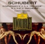 SCHUBERT - Maazel - Symphonie n°2 en si bémol majeur D.125