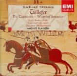 STRAUSS - Plasson - Taillefer, ballade pour chœur, solistes et orchestre