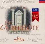 MOZART - Solti - Die Zauberflöte K.620 : extraits