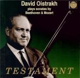 BEETHOVEN - Oistrakh - Sonate pour violon et piano n°9 op.47